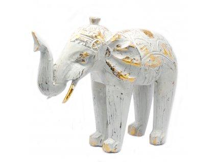 socha slona biela rucne vyrezavana (2)