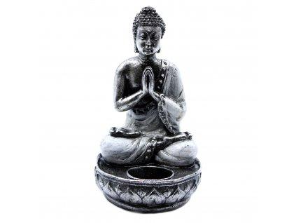 svietnik buddha biely stredny (5)