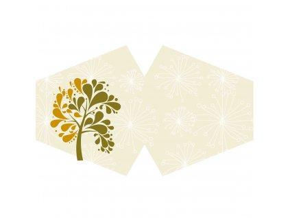 rusko stylove zlaty strom