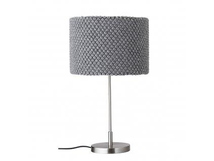 stolova lampa vlnena seda bloomingville (2)