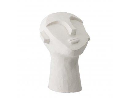 dekoracia z cementu hlava bloomingville (6)