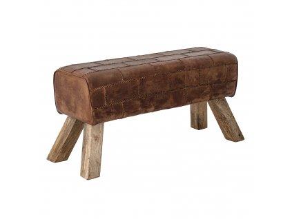 lavicka z kozej koze feo bench creative collection bloomingville (4)