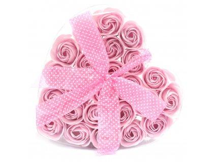 mydlove ruze sada 24kusov darcekove balenie (1)