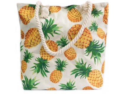 Plážová taška Ananas1