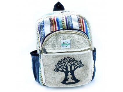 maly konopny ruksak strom bodhi (1)