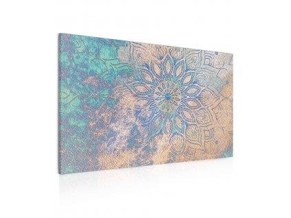 Obraz Modro-zlatá mandala