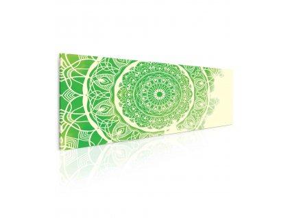 obraz mandala green (1)