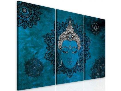 obraz modry buddha (2)