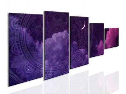 obraz mandala v risi snov fialova (1)