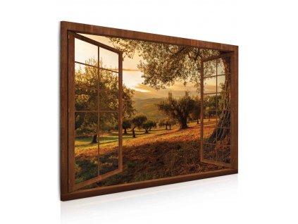 obraz 3d okno do raja prirody (1)