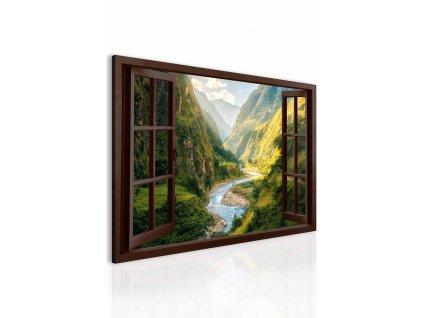 obraz 3d fascinujuci kanon za oknom (1)