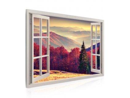 obraz 3d snovy vyhlad z okna (4)