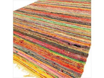 koberec luxusny rucne tkany zlty (1)