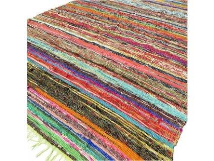 koberec rucne tkany zeleny (1)