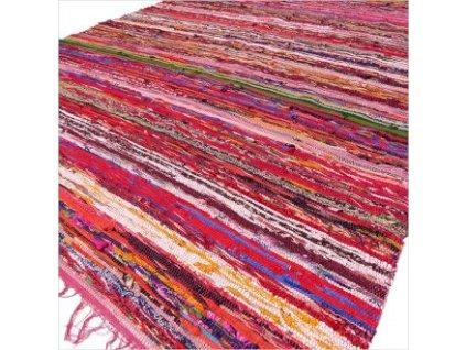 koberec rucne tkany cerveny (1)