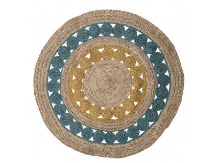 jutovy okruhly kobercek marlin rug (2)