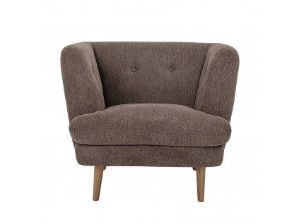 relaxacne kreslo elliot lounge chair brown bloomingville (9)