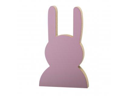 detska dekoracia zajac ruzova