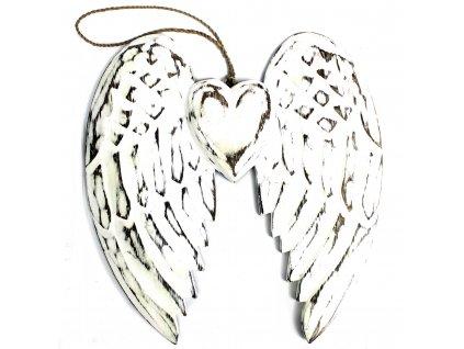 rucne vyrabane anjelske kridlo a srdce (4)