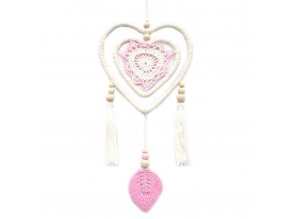 lapac snov ruzove srdce v srdci stredný (1)