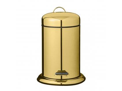 odpadkovy kos kovovy zlaty (2)