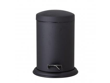 odpadkovy kos z nehrdzavejucej ocele cierny (2)