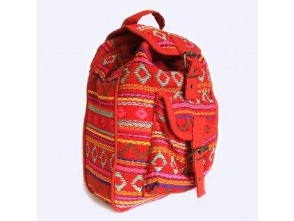 nepálsky batoh ružový
