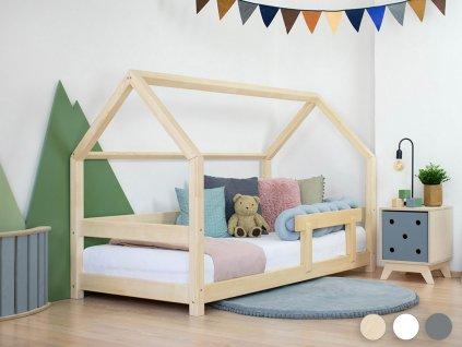 Detská posteľ domček TERY s bočnicou