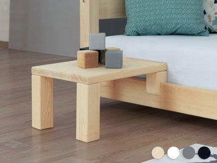 Nočný stolík k latkovým posteliam NANOC