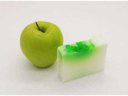 prírodné mydlo jablko baza