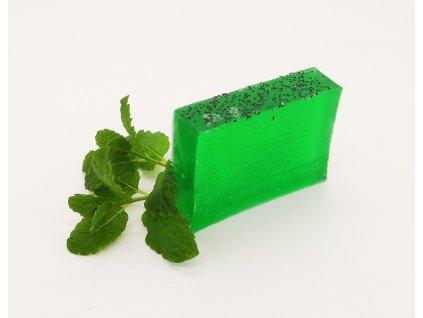 prírodné mydlo mäta tea tree olej2
