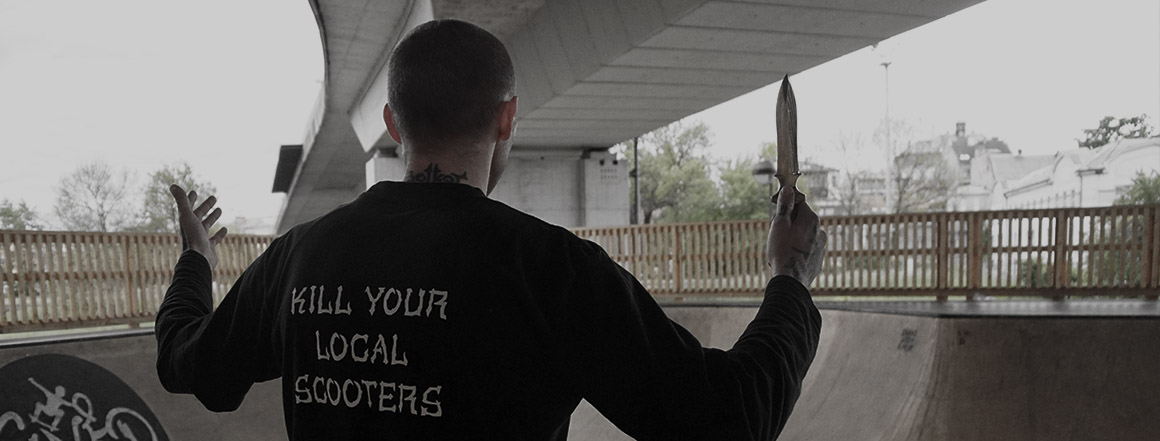Kill Scooters knife