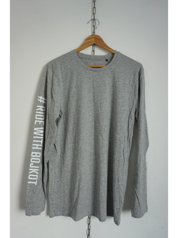 Triko Bojkot Long Sleeve Grey