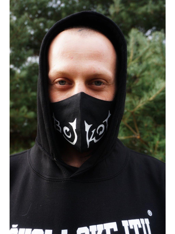 Bojkot anticovid mask logo