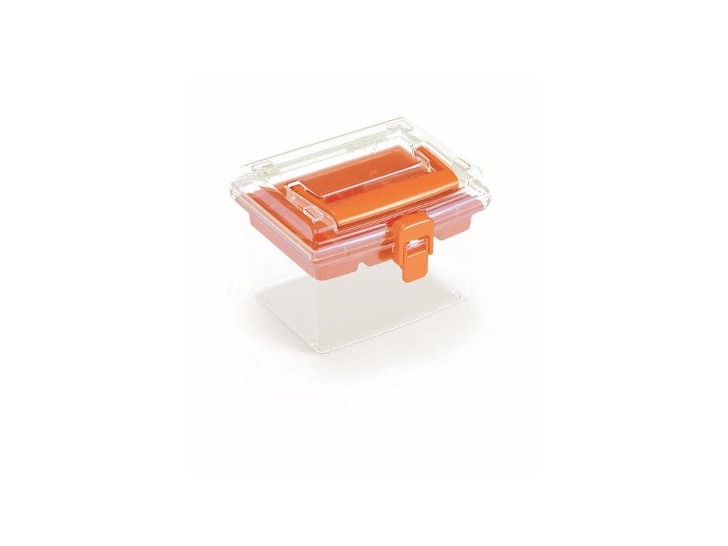 Plastový organizér NUF HIGH 148x135x110 oranžový