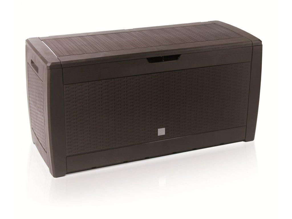 Zahradní box BOXE RATO umbra 119cm - 310L