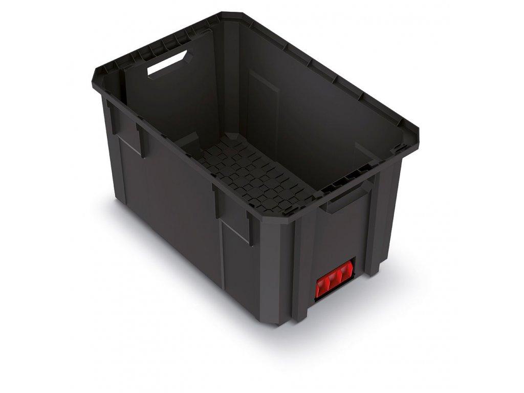 Modulární přepravní box X BLOCK PRO černý 544x362x300
