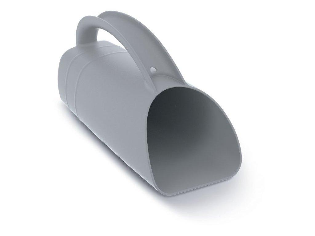 Konev multifunkční R CUP PLUS šedá 12,2cm (odolný ABS plast)