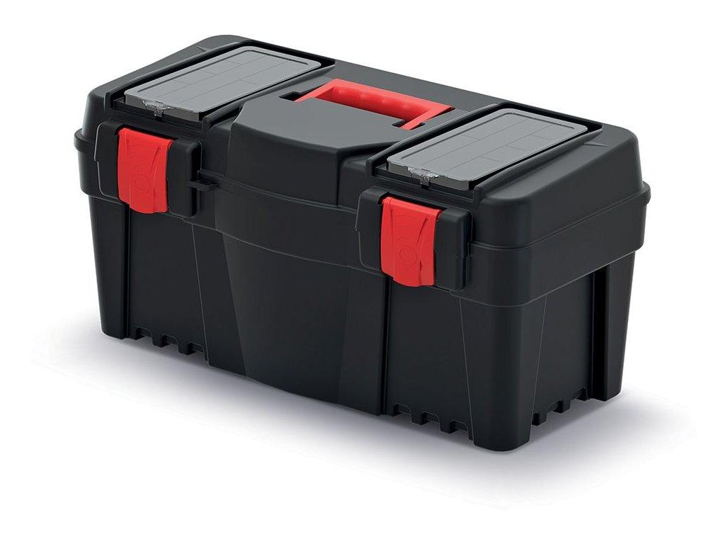 Plastový kufr na nářadí CALIBER 550x267x270