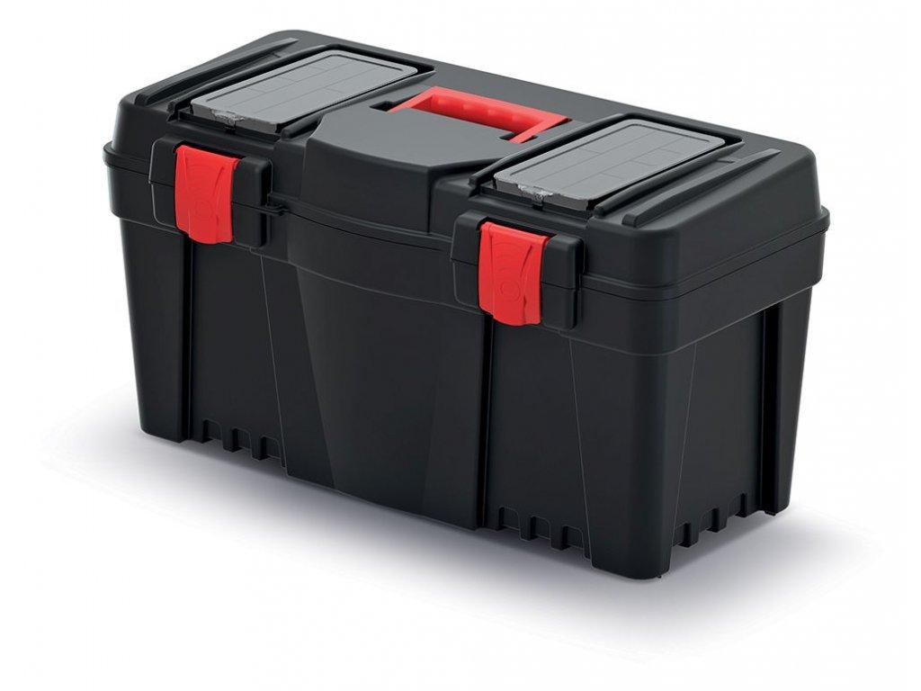 Plastový kufr na nářadí CALIBER 597x285x320