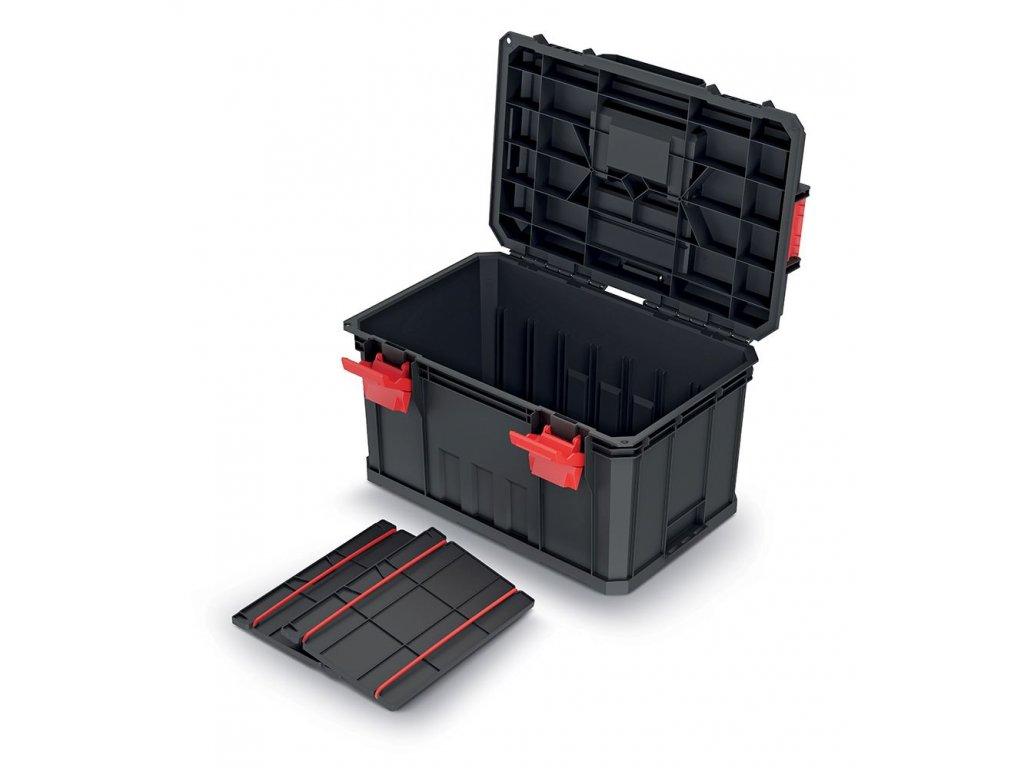 Kufr na nářadí s 2 přepážkami MODULAR SOLUTION 530x355x310