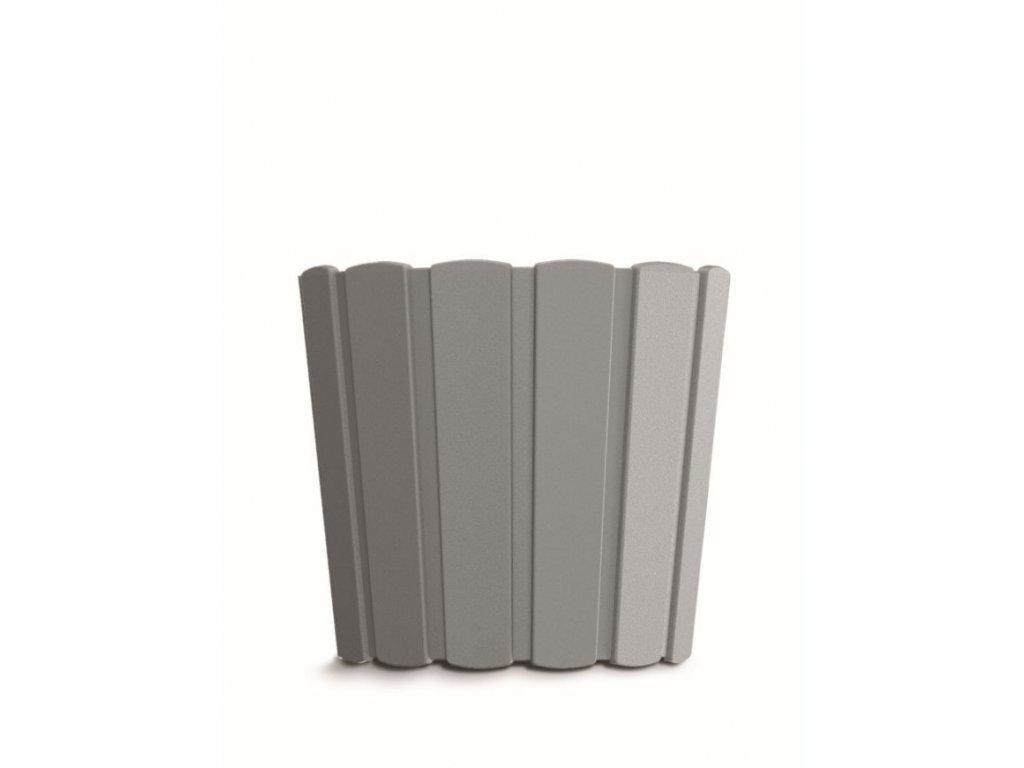 Květináč BOARDEE BASIC šedý kámen 12cm