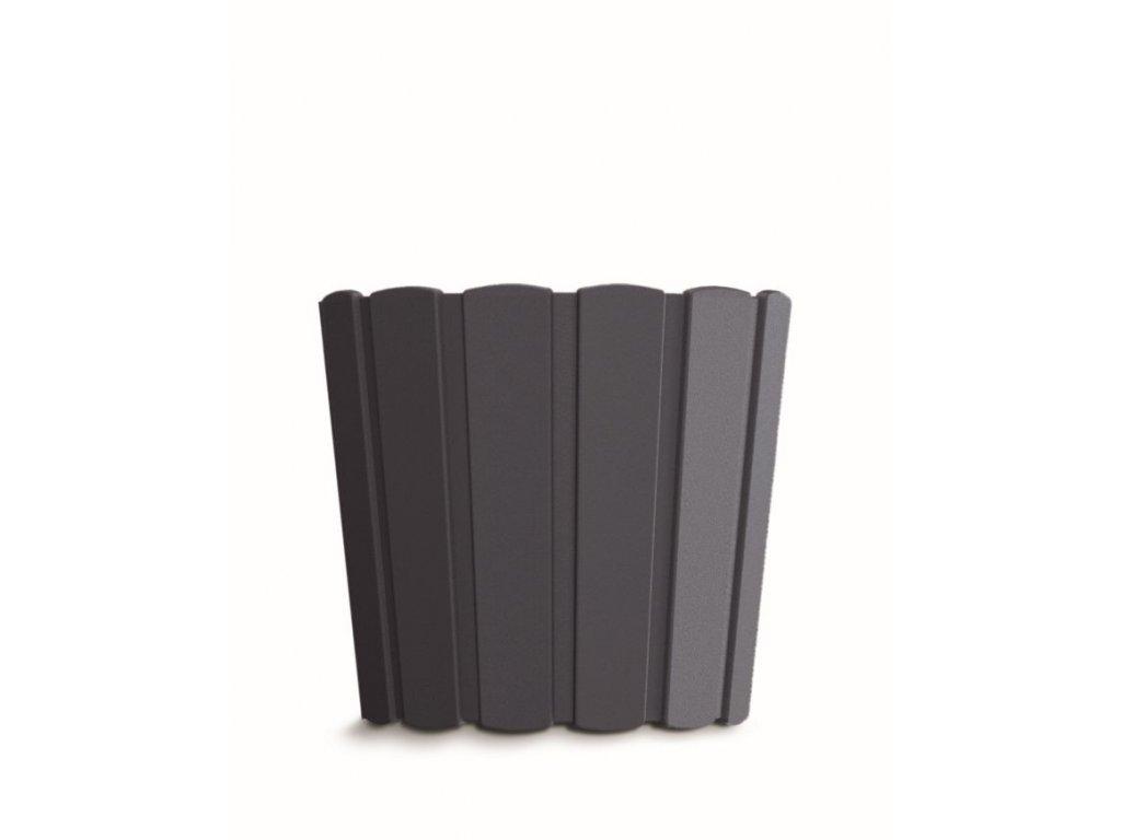 Květináč BOARDEE BASIC antracit 12cm