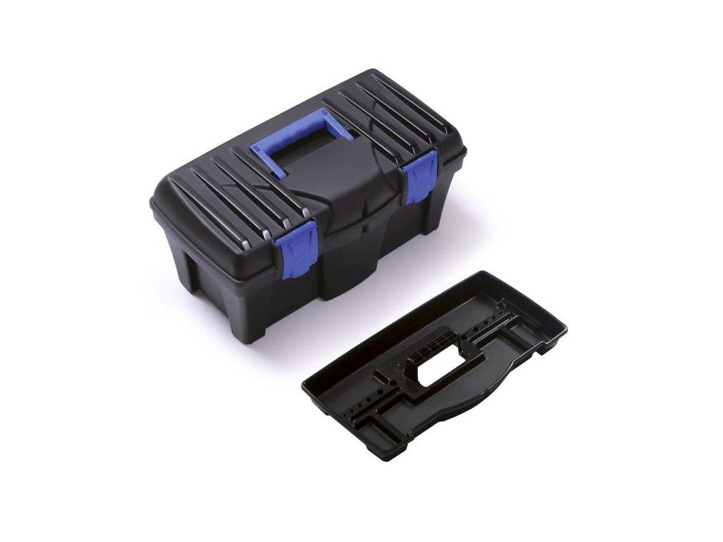 Kufrík CALIBER modrý 460x257x227