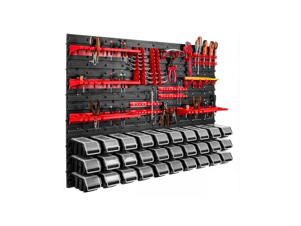 Stena na náradie 1156 x 780 + 30 uzatvárateľných boxov