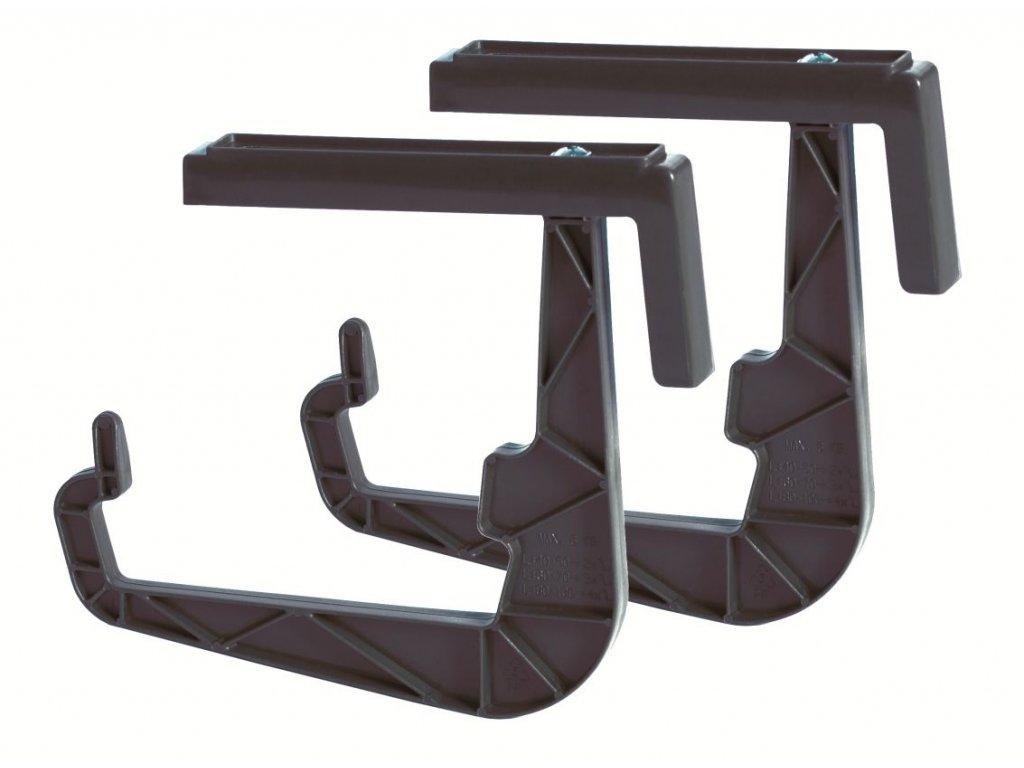 Držák na truhlíky HANGPLAST antracit 23,5cm