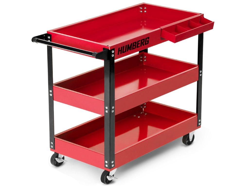 Červený vozík na náradie Humberg HR 809,1
