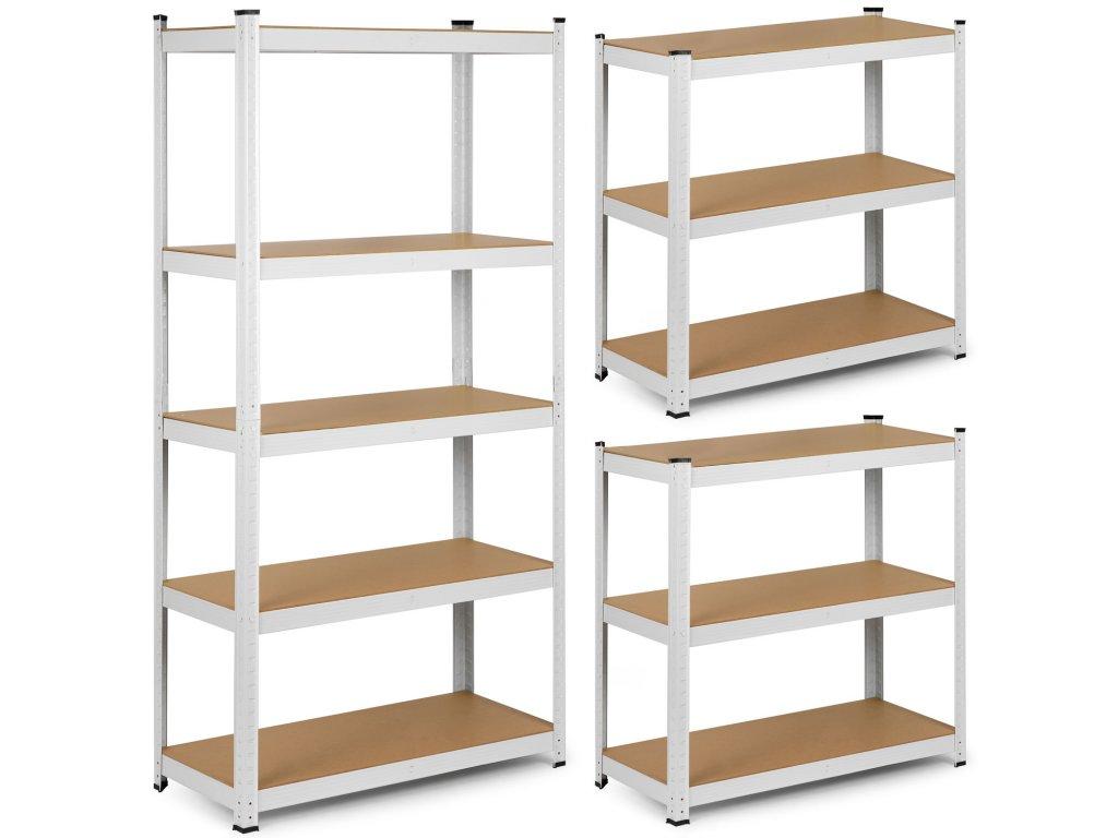 Kovový skladovací regál 180 x 90 x 30 Humberg 4844,1
