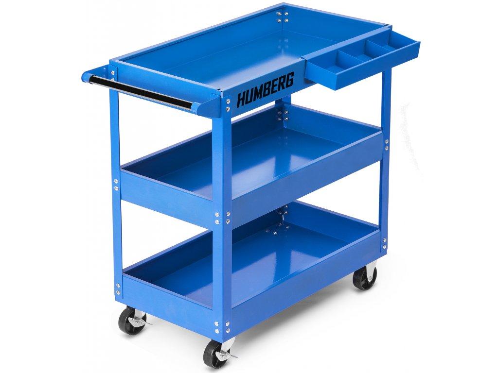 Modrý vozík na náradie Humberg HR 807,1
