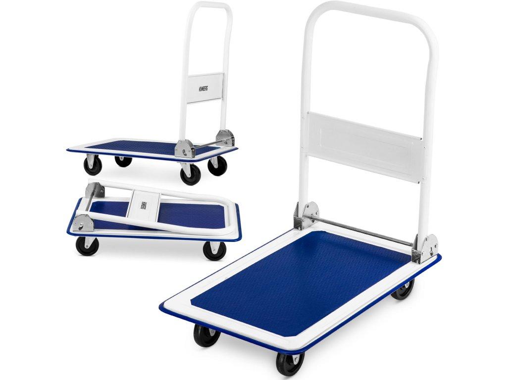 Ručný transportný vozík HM 500 biely a modrý 1
